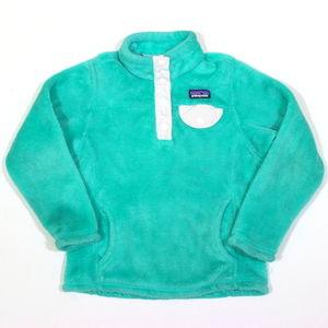 Patagonia Kids Re-Tool Snap Fleece Jacket 65585